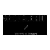 ANERKJENDT logo